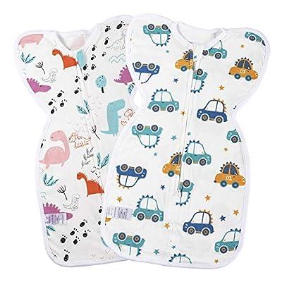 Amazon - Save 30%: Umineux Baby Swaddle Pod with Zip, Unisex Infant Swaddle Sack Set for Bet…