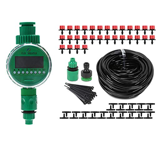 AFFC Automatische LCD-watertimer met 25 m DIY druppels gereedschapsset tuin irrigator Smart irrigator irrigator controller irrigatiesysteem kits