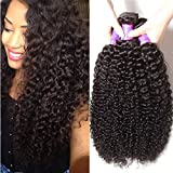 Ali Julia Hair Wholesale 3-Pack 10A Malaysian Virgin Curly Hair Weave Real Human Hair Weft Extensions Cheap Bundle Hair Products Natural Color 95-100g/pc(8 10 12 inch)