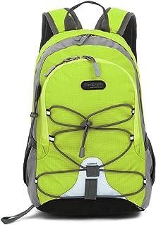"12"" Kids Waterproof Sport Backpack, 10L Lightweight Children School Book bag, for Girls Boys Traveling (Green)"