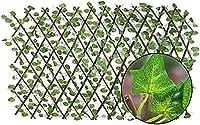 緑のカーテン グリーンカーテン ガーデンフェンススクリーニング装飾用の人工アイビーリーフトレリスフェンスプライバシースクリーニングパネル BRFDC 626