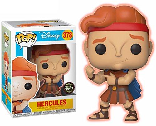 FunKo Pop! Disney: Hercules - Hercules Chase Variant Limited Edition Vinyl Figure (Bundled with Pop...