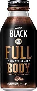 UCC BLACK無糖 Full Body 缶コーヒー 375g ×24本