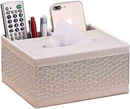 BFFDD Domowe pudełko na chusteczki pokrowiec na biurko pojemnik do przechowywania łazienki i biura wielofunkcyjne pudełko ...