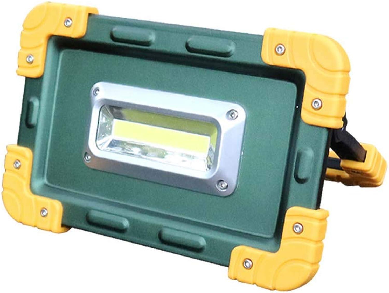 Mobile Notfall-Leichtbau Leichtes Hochlicht, IP65 Wasserdichtes Scheinwerferlicht für Wandern, Autokarzierung, Werkstatt, Garage