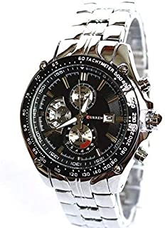 Curren Men's Watch 8083 Casual Fashion Quartz Watch With Calendar and Stainless Steel Strap Analog
