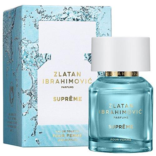 ZLATAN SUPRÊME Pour Femme EdT- Parfüm für Damen aus der Kollektion von Zlatan Ibrahimovic - Eau de Toilette Parfum für Frauen - Blumiger, zeitgemäßer Damenduft 50ml