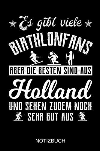 Es gibt viele Biathlonfans aber die besten sind aus Holland und sehen zudem noch sehr gut aus: A5 Notizbuch | Liniert 120 Seiten | ... | Ostern | Vatertag | Muttertag | Namenstag
