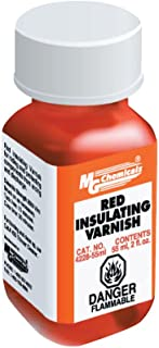 MG Chemicals 4228-55ML Red Insulating Varnish, 55 mL Bottle