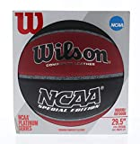 Wilson NCAA Special Edition Basketball, Indoor Outdoor, Composite Leather, Official Size (29.5)