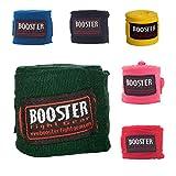 Booster Handbandagen BPC - 4,60m - Teilelastisch 4,60m lang - Lange Boxbandagen für MMA Boxen Muay Thai Wickelbandagen Lange Ausführung mit Daumenschlaufe - Farbauswahl (Gelb)