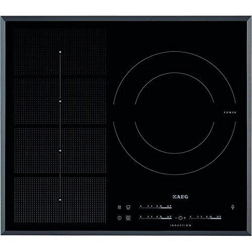 AEG HKP65310FB hobs - Placa (Integrado, Inducción, Vidrio y cerámica, Sensor, Parte superior...