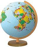 COLUMBUS Kinderglobus 'Die Maus' Leuchtglobus-Set: Durchmesser 26 cm, Set-Inhalt: Leuchtglobus, Plüschmaus, Begleitheft, Welt-Uhrzeit-Lineal (Kids Line)