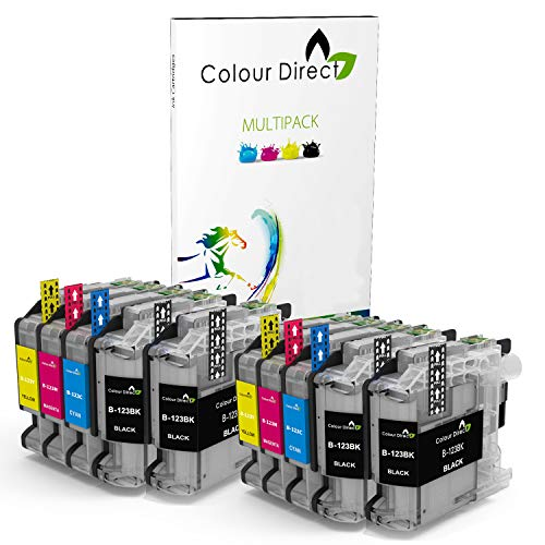 Colour Direct LC123 LC123XL Compatible Chipped Ink Cartridges Replacement...