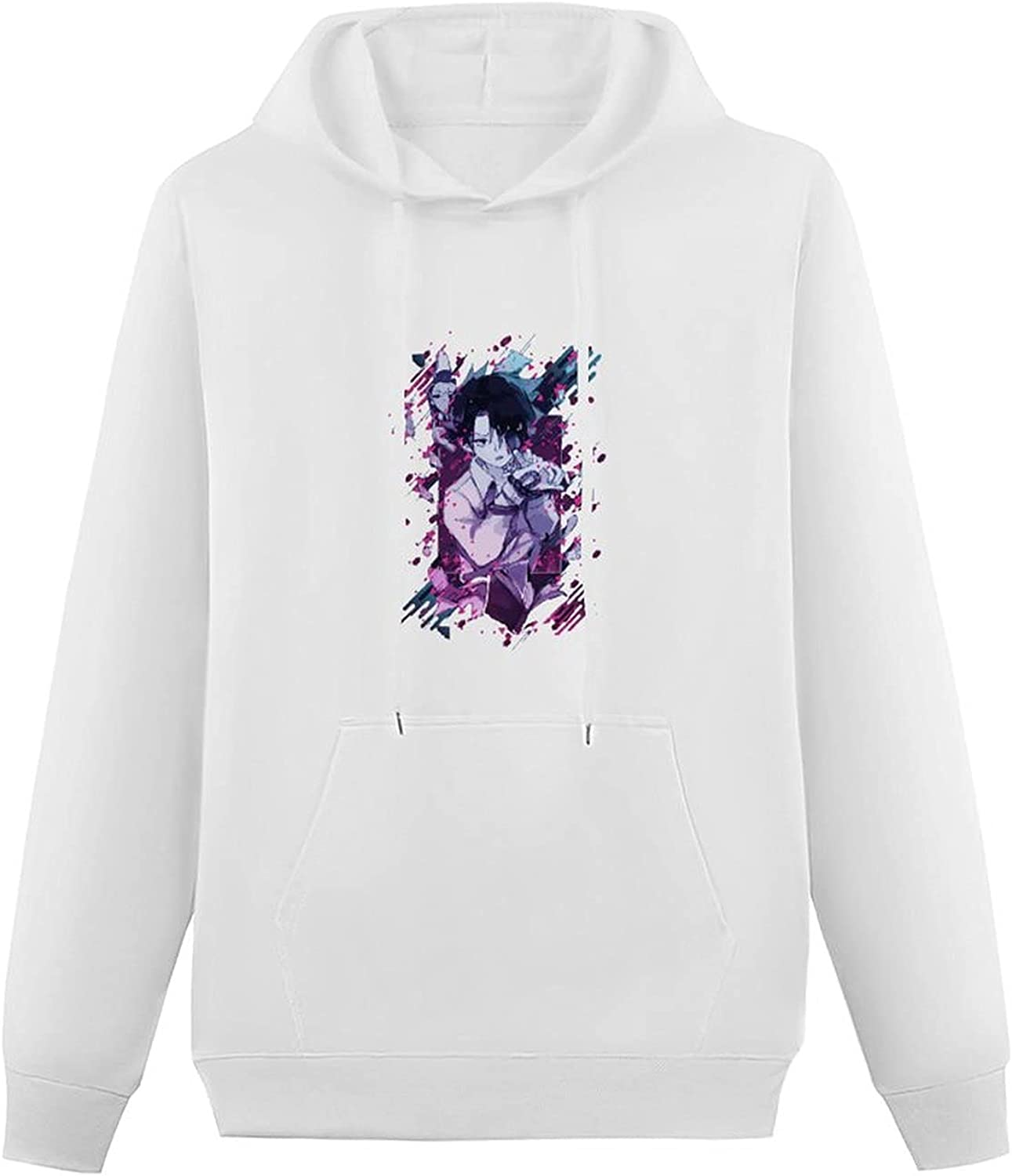 Anime The Promised Neverland Teen Hooded Sweatshirt, Personality Pullover Hoodie Sweater with Pockets for Boys Girls