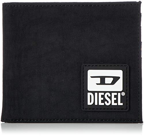 Diesel BULERO HIRESH S Wallet, Accesorio Billetera de Viaje Hombre, Black, Talla única