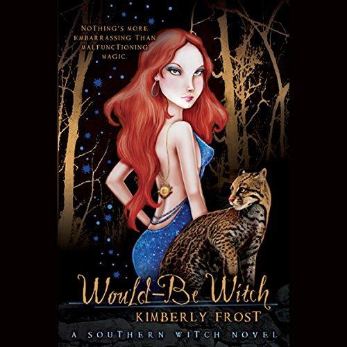 Would-be Witch audiobook cover art