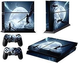 EBTY-Dreams Inc. - Sony Playstation 4 Original (PS4 Original) - Final Fantasy VII (FFVII) Cloud & Sephiroth Vinyl Skin Sticker Decal Protector