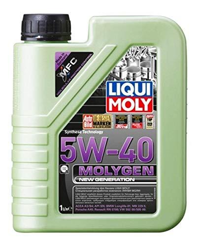 Liqui Moly 20230 Molygen New Generation 5W40 Aceite de motor, 1 l, 1 paquete