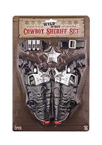 Set Da Pistola E Fondina Da Cowboy - Per Il Costume