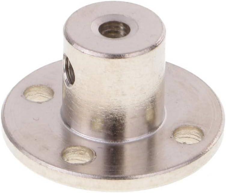 Xrlwood Teniendo 3-14 mm de Alta dureza electrochapa Brida de Acero Acoplamiento del Eje r/ígido Brida de Acoplamiento del Eje del Motor Gu/ía del Eje