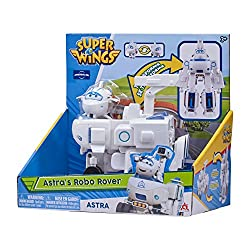 This Transforming Super Wings figure can be transformed from aircraft to robot mode (and back) in 10 easy steps. A challenge for children of all ages Experience the transformation and play your favourite missions from the popular TV show or create ne...