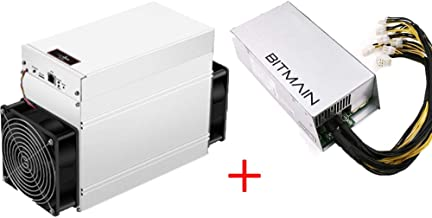 Bitmain Antminer S9 SE 16T 1280W ASIC Miner Bitcoin Miner Include APW7 1800W PSU and Power Cords