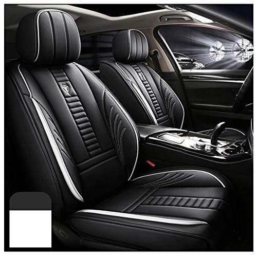 Fundas de asiento de coche personalizadas para BMW X3 E83 2002 – 2020, impermeable, juego completo de funda de cojín de piel sintética, color blanco