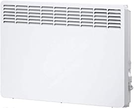 ZP-Heater Convector-Calefactor,Calefactor Convector con 2 Ajustes de Calor, Termostato Regulable, Asas Integradas, 1500 W, Blanco