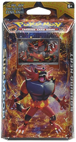 Pokemon TCG: Sun & Moon - Incineroar Roaring Heat Theme Deck | Full Ready to Play Deck of 60 Cards | Includes Cracked Ice Holofoil Version of Incineroar Plus Deck Case, Litten Metallic Coin & More