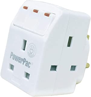 PowerPac 3 Way Adaptor with Switch