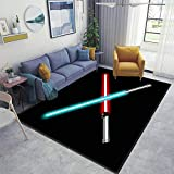 Stop Wars Area Rugs Non-Slip Floor Mat Doormats Home Runner Rug Carpet for Bedroom Indoor Outdoor Kids Play Mat Nursery Throw Rugs Yoga Mat