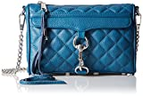 Rebecca Minkoff Quilted Mini Mac,Navy,One Size