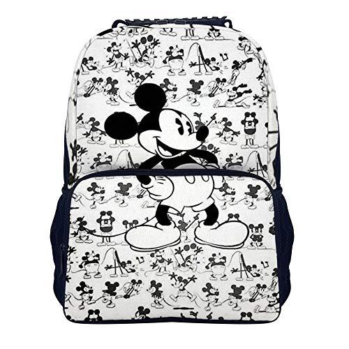 Mickey Mouse Cool (2) mochila escolar bolsa de viaje de negocios mochila para hombres mujeres adolescentes escuela colegio 16 pulgadas