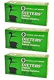 3 BOXES NATURAL LEAF BRAND DIETER DRINK TEA 1.5 OZ. FOR MEN AND WOMEN