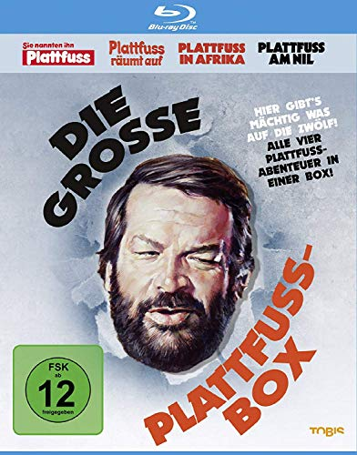 Bud Spencer - Die grosse Plattfuss-Box [Blu-ray]