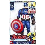 Hasbro C2163100 Elektronischer Titan Hero Captain America, 30 cm große Actionfigur mit Sprache und Sound