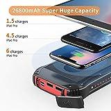 Zoom IMG-1 powerbank solare 26800mah caricabatterie portatile