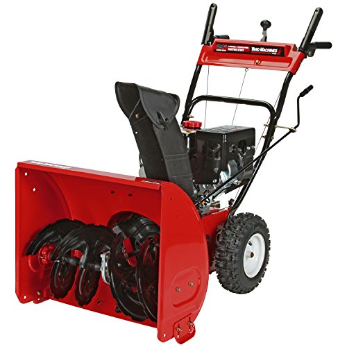 Best snowblower for gravel driveway:Yard Machines 208cc Two-Stage Gas Snow Thrower