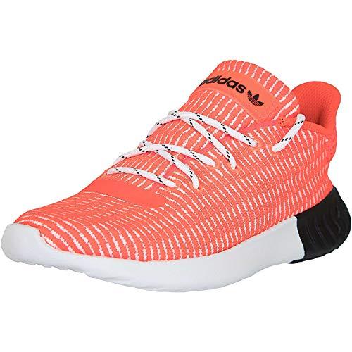 adidas Tubular Dusk, Scarpe da Fitness Uomo, Rosso (Rojsol/Ftwbla/Negbás 000), 38 2/3 EU
