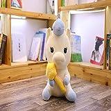 GHJU Plüschtiere 258cm Neue Nette Einhorn-Plüsch-Spielzeug Baby-Spielzeug for Senden Mädchen Spielzeug Wohnkultur Zubehör for Senden Kindergeburtstag Geschenke Qingqiao
