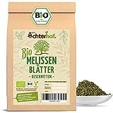 Melissentee BIO | 500g | 100% Melisse ohne Zusätze | Melissenblätter Tee getrocknet geschnitten lose | vom Achterhof