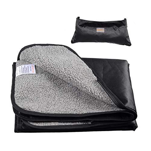 He&Ha Pet Dog Mat Portable Waterproof Pet Blanket