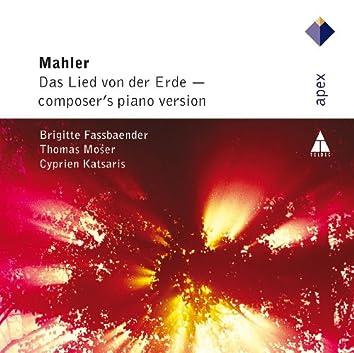 Mahler : Das Lied von der Erde - Piano Version