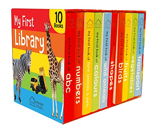 My First Library : Boxset of 10 Board...