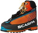 SCARPA Men's Phantom TECH Mountaineering Boot, Black/Orange, 46.5 EU/12.5 M US