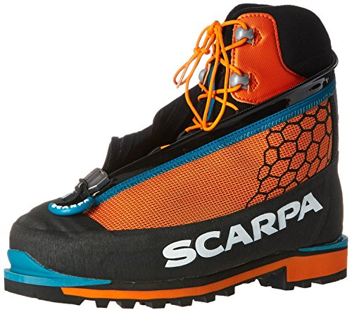 SCARPA Unisex-Adult Phantom TECH-U, Black/Orange, 43 EU/10 M US