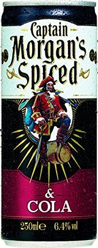 Captain Morgan Original Spiced Gold & Cola (12 x 250 ml)