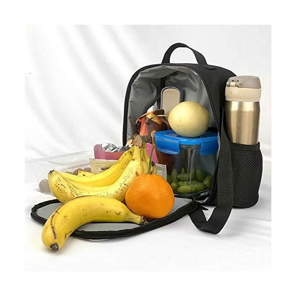 5119rxdDF1L. SS600  - The Si-mps-ons - Juego de mochila escolar con bolsas de almuerzo y estuche ligero para viaje para niños y niñas