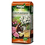 Kübelpflanzenerde 45 Liter Blumenerde Plantop